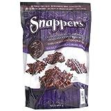 Snappers Gourmet Caramel And Pretzel Treats Dark Chocolate And Sea Salt Caramel 680g