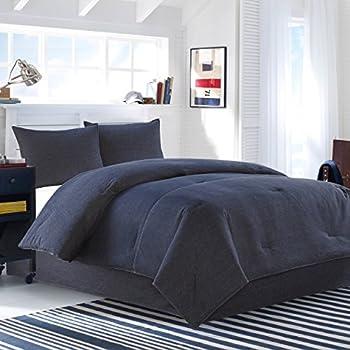 Amazon.com: Kimlor American Denim Comforter Set, Queen