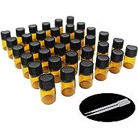 Yizhao Ambar Botellas de Aceite esencial de Vidrio