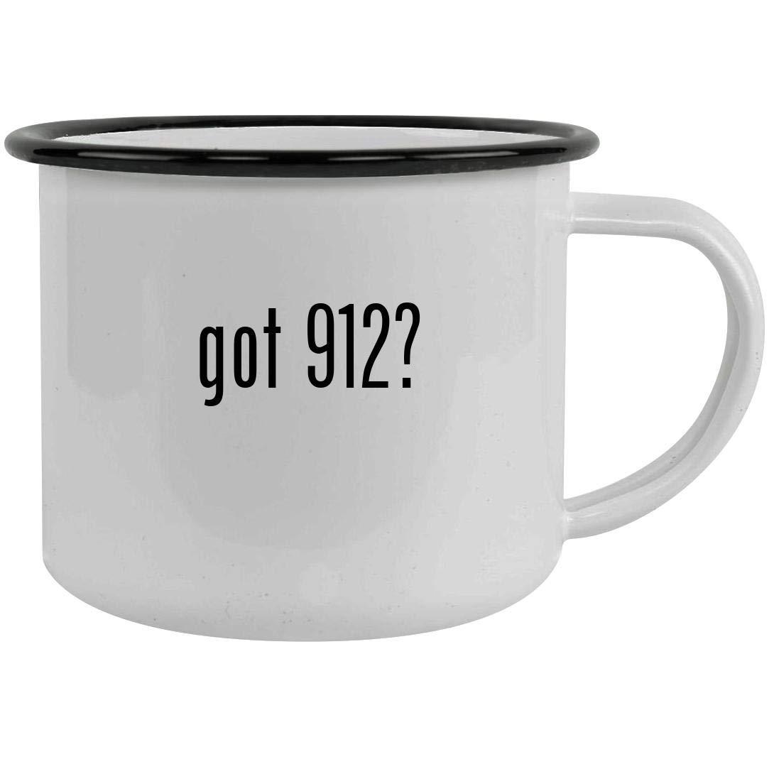 got 912? - 12oz Stainless Steel Camping Mug, Black