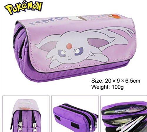Kids Craze Reino Unido Espeon Pokemon estuche dos compartimentos: Amazon.es: Oficina y papelería