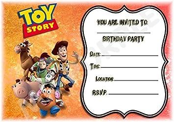 Disney Toy Story Birthday Party Invites