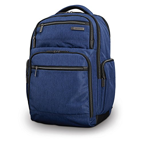 Shot Laptop Backpack - Samsonite Modern Utility Double Shot Laptop Backpack (True Navy)