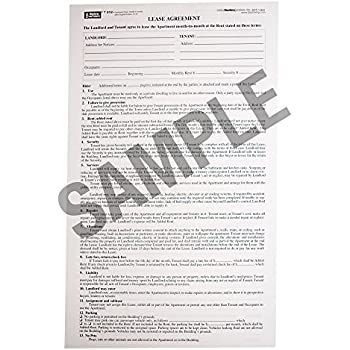 Amazon New York Residential Lease Form 327 85 X 14 Office