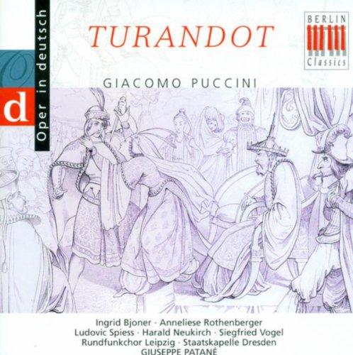 (Giacomo Puccini: Turandot (Sung in German) [Opera] [Ingrid Bjoner])
