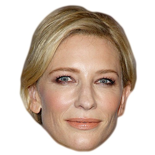 Cate Blanchett Celebrity Mask, Card Face and Fancy Dress (Cinderella Face)