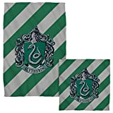 Slytherin Crest -- Harry Potter -- Face & Hand Towel Set