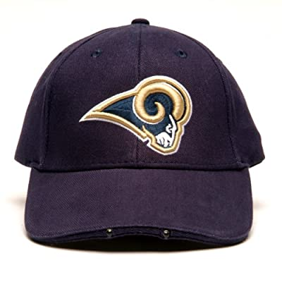 Lightwear NFL Los Angeles Rams Dual LED Headlight Adjustable Hat from Lightwear