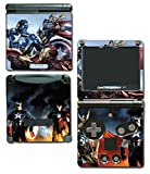 Avengers 2 Movie Iron Man Thor Captain America Hulk 3 Age of Ultron Thanos Video Game Vinyl Decal Skin Sticker Cover for Nintendo GBA SP Gameboy Advance System
