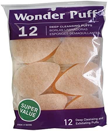Wonder Puff 12 Deep Cleansing Puffs