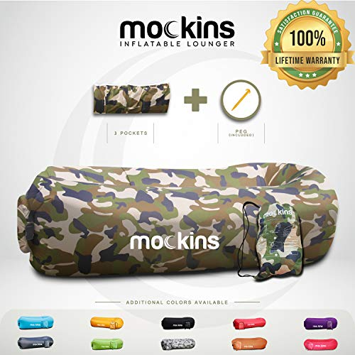Mockins Camouflage Inflatable Lounger