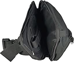 Tufforce Tactical Fanny Pack with Pistol Holster and Quick Release, TG-PF98B