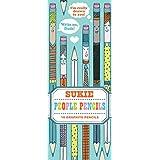 People Pencils: 10 Graphite Pencils