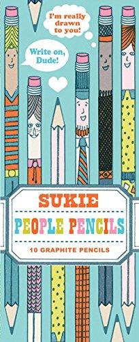 Read Online People Pencils: 10 Graphite Pencils ebook