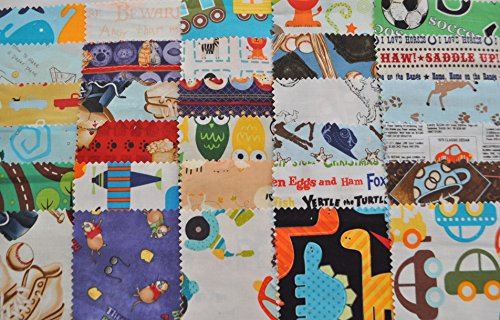 I Spy Novelty Boy Fabric 5