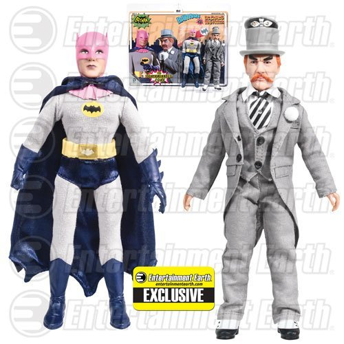 Batman Contaminated Cowl vs. Mad Hatter Figures EE Exclusive]()