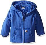 Carhartt Baby Girls' Sherpa Lined Redwood Jacket, Blue, 12 Months
