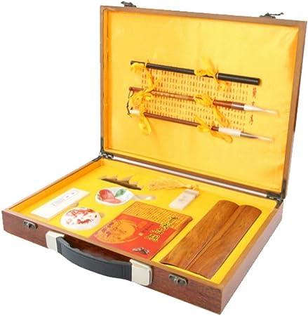 brush Suministros de Escritura, Chino caligrafía Set Escritura Craft Kits de Regalo con Estuche para Regalo: Amazon.es: Hogar