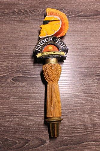 Shock Top Belgian Wheat Tap Handle (Shock Top Beer Glass)