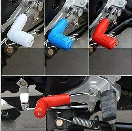 FidgetKute Motorcycle Rubber Hanging Sleeve Universal Gear Lever case Shoe Shift accessorie PinkPink