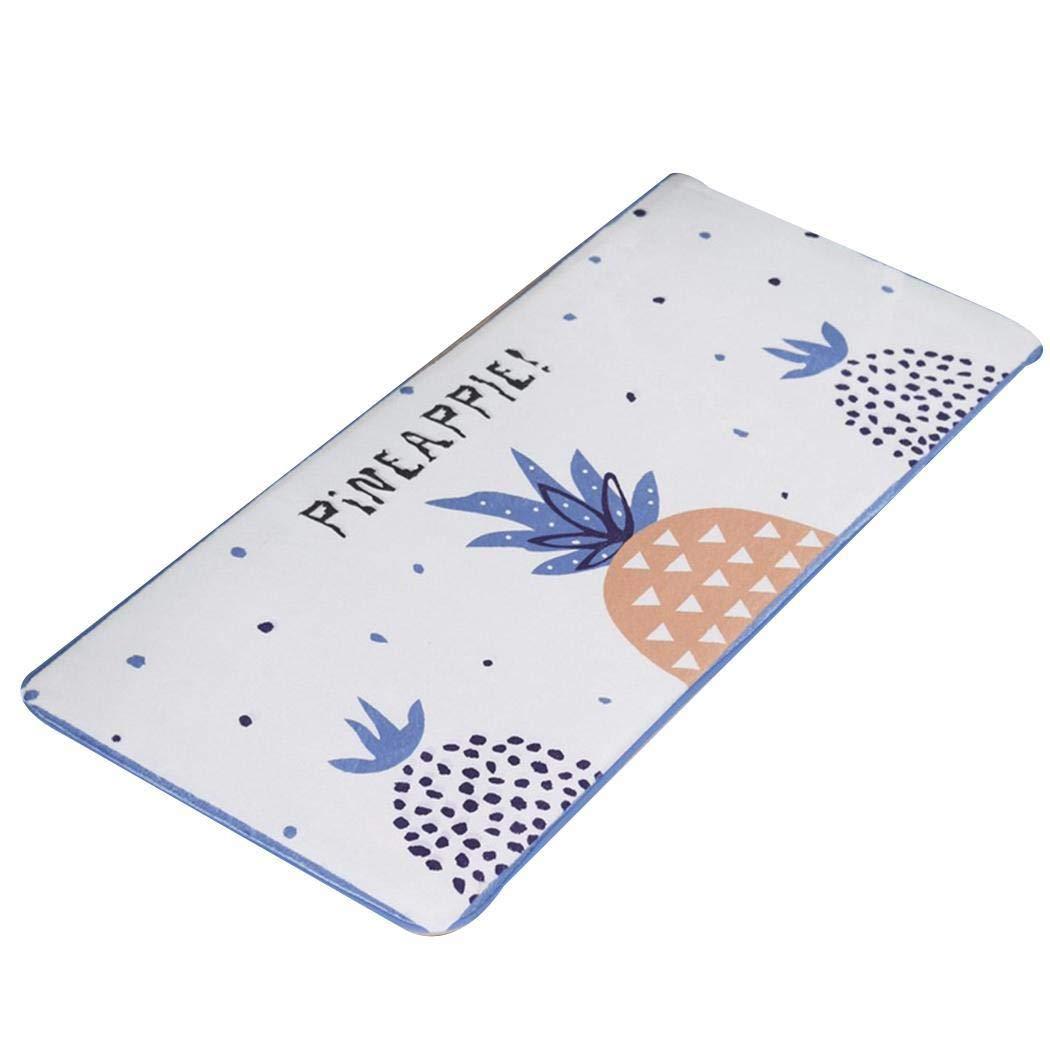 YAGAIU Tapis de salle de bain de tapis de maison de tapis de maison anti-d�rapant dabsorption deau de forme de rectangle dimpression pratique Ensembles de tapis