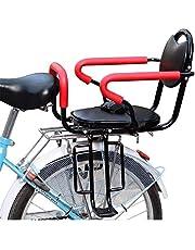 KHXJYC Cykel barnstol, 50 kg bärande säkerhet barnstol, miljöskydd främre mountainbike säte ridning tillbehör