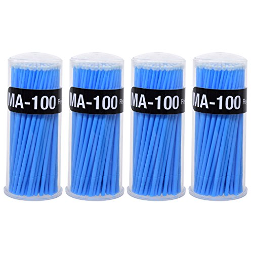 ator Brushes Dental Brush - Yookat Disposable Micro Applicator Brushes for Eyelash Extensions, Dental and Oral Using Blue ()