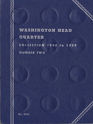 1946-DATE (1959) WASHINGTON HEAD QUARTER Whitman No 9031 COIN; ALBUM, BINDER, BOARD, BOOK, CARD, COLLECTION, FOLDER, HOLDER, PAGE, PORTFOLIO, PUBLICATION, SET, VOLUME