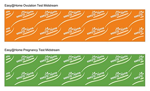 Easy@Home 8 Ovulation Test and 2 Pregnancy Test Sticks - Midstream Tests - Reliable Ovulation Predictor Kit And Fertility Test, Powered by Premom Ovulation Predictor App, Free iOS and Android App by Easy@Home (Image #2)