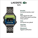 Lacoste Berlin Quartz Watch with Stainless Steel