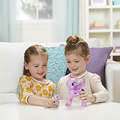 My Little Pony Princess Twilight Sparkle Spike the Dragon Friendship Duet: Toys & Games