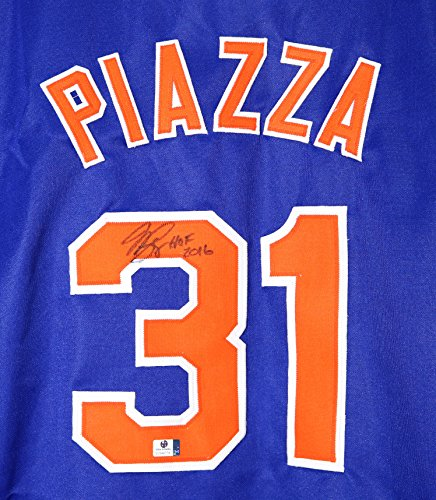 Signed New York Mets Jersey - 6