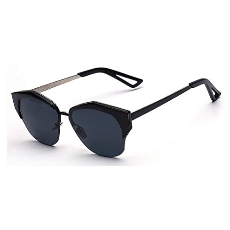Godbb Tonos de Moda Marco Irregular semirreflejo Gafas de ...