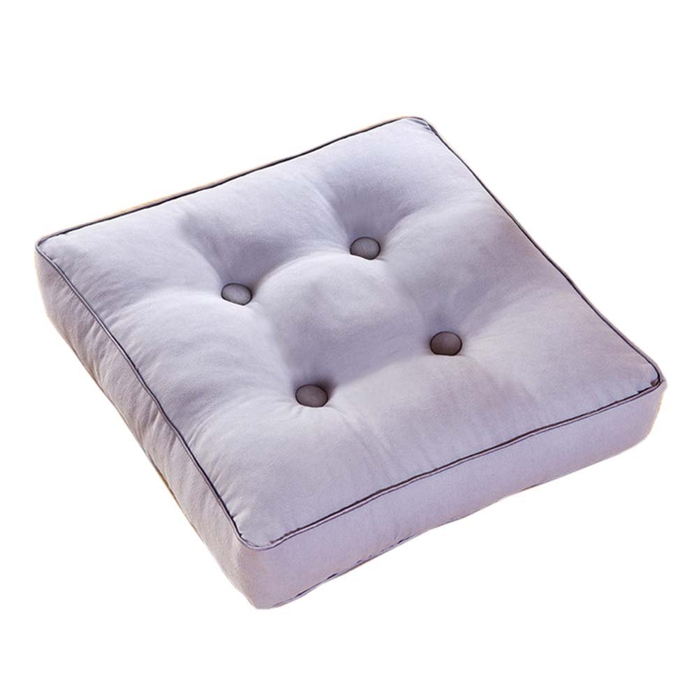Square Tatami Mat Floor Pillow Sitting Cushion for Home/Office/Garden, Royal Blue FANCY PUMPKIN