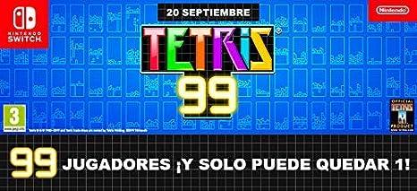 Tetris 99 + 12 meses Nintendo Switch Online: Nintendo: Amazon.es: Videojuegos