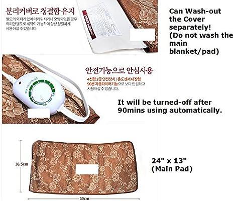 Corea ilwoul Elvan & ochery eléctrico calefacción manta pad con ...