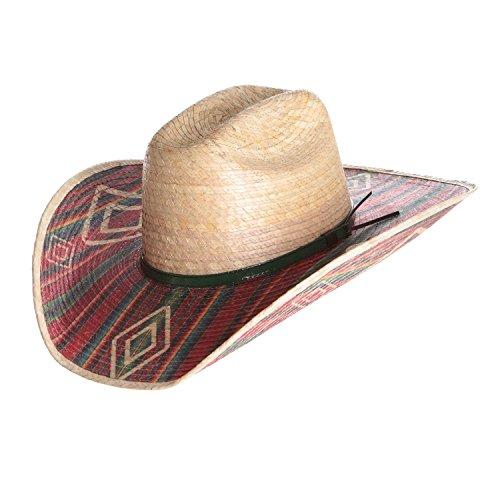 Bullhide Mens Southwestern Energy 20X Palm Leaf Hat