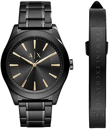 Armani Exchange Men s AX7102 Watch and Strap Gift Set
