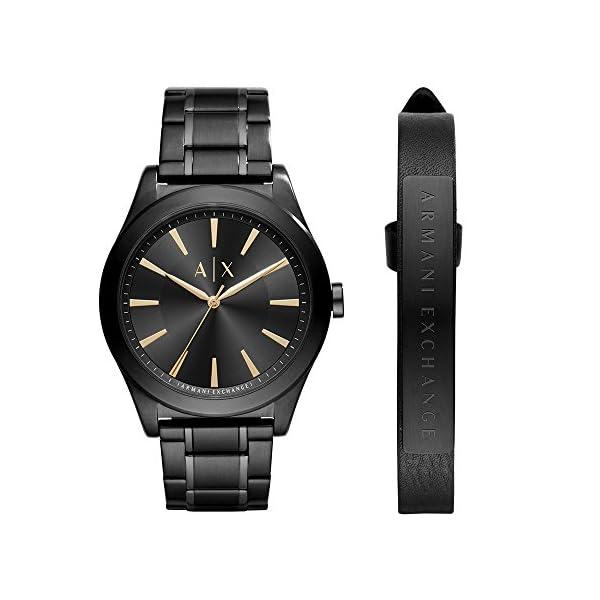 Armani Exchange Men's AX7102 Watch and Strap Gift Set