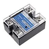 uxcell TRT-1-D48A120Z DC 3-32V to AC 24-480V 120A Single Phase Solid State Relay Module DC to AC