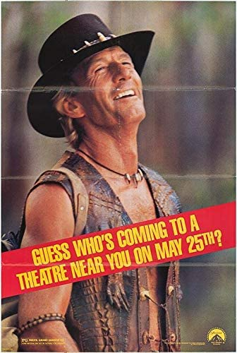 Crocodile Dundee Ii Authentic Original 27x41 Folded Movie Poster At Amazon S Entertainment Collectibles Store
