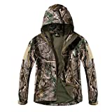 Product review for Eglemall Men's Army Military Outdoor Soft Shell Hooded Tactical Jackets