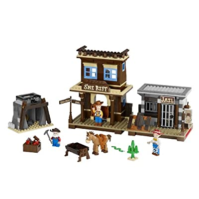 LEGO Toy Story Woody's Round Up (7594): Toys & Games