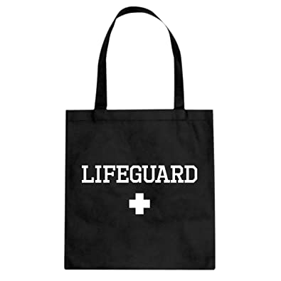 3402d0bd854 Amazon.com  Tote Lifeguard Large Black Canvas Bag  Shoes