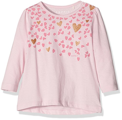 Esprit Kids Baby-Mädchen T-Shirt, Rosa (Rosa 690), 74