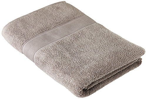 Traditional Mafia 1 Piece 1000 GSM Oversized 100% Zero -Twist Cotton Bath Sheet/Beach Towel, 90cm x 180cm, Light Grey by traditional mafia