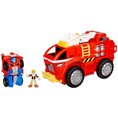 Transformers Rescue Bots Mobile Headquarters from Playskool