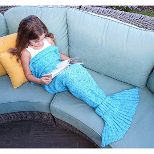AMEISEYE Mermaid Tail 55x27 5inchs Blue
