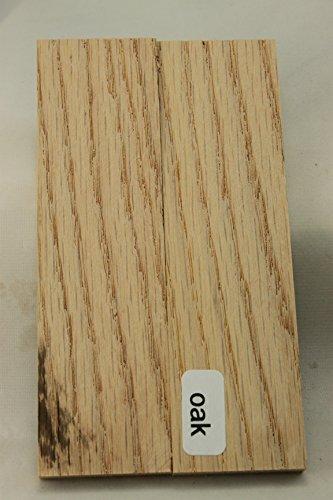 5 INCH OAK knife/gun grip scales ()