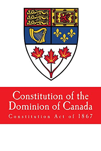 Constitution of the Dominion of Canada